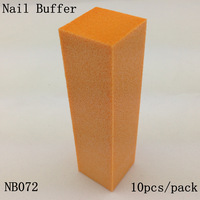 [ Retail ] High-Quality Orange Nail Buffer Block File 4 Way Shine, 10pcs/lot  + Free Shipping