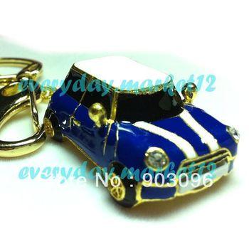 Sale Crystal Blue Car Model 2GB/4GB/8GB/16GB/32GB USB 2.0 Enough Memory Stick Flash pen Drive Cool Gifts