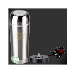 Car electric heating cup car vacuum cup Stainless steel kettle water heater boil water cup 500ML(China (Mainland))