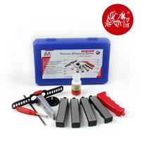 TAIDEA Professional Knife Sharpener System ,fix-angle Universal sharpener,360/480/600/1K Grit ,4pcs diamond Whetstone