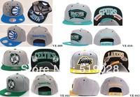 Free shipping  Velcro,mesh Snapback hat, baseball team caps Snapback Hats