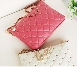 2013 New arrival lady handbag, leather shoulderbag woman, same as pictures free shipping,1pce wholesale.NX-20(China (Mainland))
