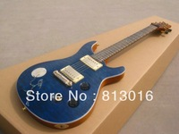 free shipping) prs guitar best Musical Instruments Limited Edition Custom 24 Electric Guitar with quilted flame+bird moon inlay