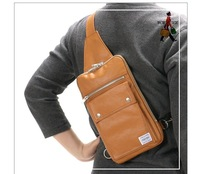 Free shipping - Fashionable casual male and female's inclined bag canvas messenger bag