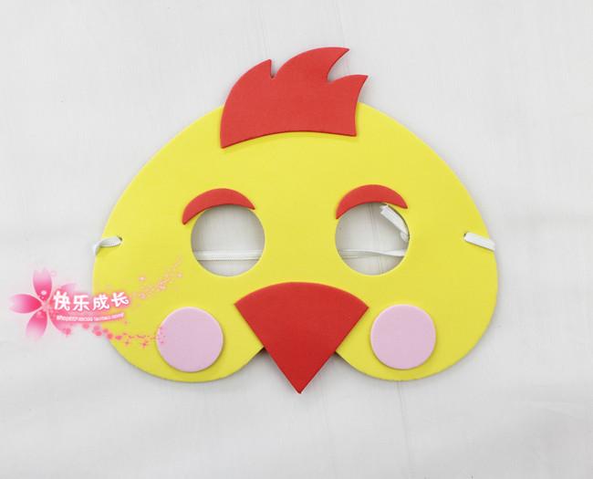 Как сделать маска курочка