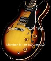 best china guitar New Custom  ES 335 Slim Neck Guitar Vintage Sunburst OEM Musical Instruments