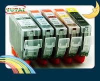 Free shipping 5PK PGI520/CLI521 Compatible Inkjet Ink Cartridge for Canon PGI520/CLI521 Canon PIXMA IP3600/IP4600/MP540 /MP620