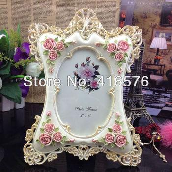 European princess resin photo frame craft, table decoration family marriage