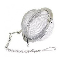 Stainless Steel Tea Ball Tea Filters Tea Interval Tea Strainers Large Filter Spices Ball  [124]