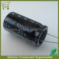 10pcs/Lot  10000UF 35V   22*40  35V 10000UF  DIP  Electrolytic Capacitor   Free  Shipping