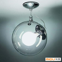 Modern brief ceiling light spherical lamps
