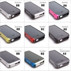 300pcs Newest Metal Aluminum Bumper Frame for iphone4 4S , Vapor 4 Case for iPhone 4 & Back Plating & Package , DHL (PG0415)(China (Mainland))