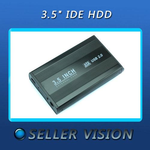 """Cheap 3.5"""" SATA HDD External Case Enclosure 3.5 inch USB 2.0 Hard Drive Disk(China (Mainland))"""