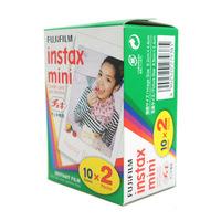 New special 20 / box Polaroid Fuji Fujifilm Instax Mini Film Twin Pack  shoot Photo Paper for Instant Camera 7s 8 25 50s 50i 55i