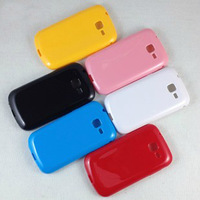 10 PCS/LOT FREE SHIPPING Gel Rubber Back Cover Shell Skin Case Candy Color TPU Case For Samsung Galaxy i699