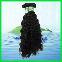 Virgin Brazilian, Curly virgin Brazilian Hair, Machine Weft,  35g/pcs, natural color +Free Shipping