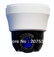 "Free shipping--IR  PTZ-TILT-ZOOM cctv camera High Speed Dome camera  infrared 4"" Sony 10x Zoom varifocal 480-700TVL"