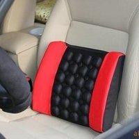 Car electric massage mat lumbar support tournure cushion car lumbar support trainborn 12v cigarette lighter