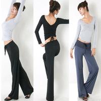 Long-sleeve yoga clothes set leotard women's yoga clothing aerobics dance pad Sport