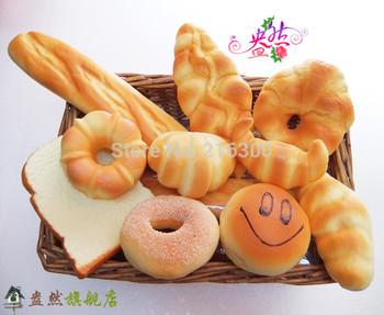 Fake cake artificial bread set bundle platter photography props toy decoration