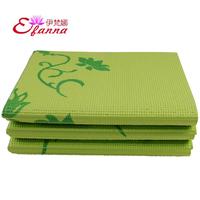 2013 new design fashion fold Yoga mat pvc 8mm free shipping