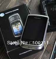 100%  Original Unlocked BlackBerry  Torch 2  9810 QWERTY  3G phones + Free shipping