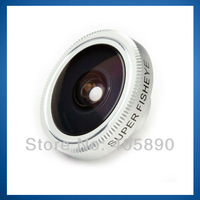 190 Degree Universal Super Fish Eye Magnetic Mobile Phone Lens for iphone HTC samsung
