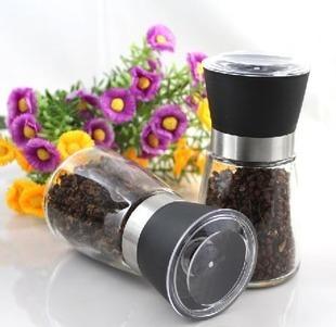 Tianyi at home high quality manual pepper grinder condiment bottles grinding bottles salt and pepper seasoning bottle