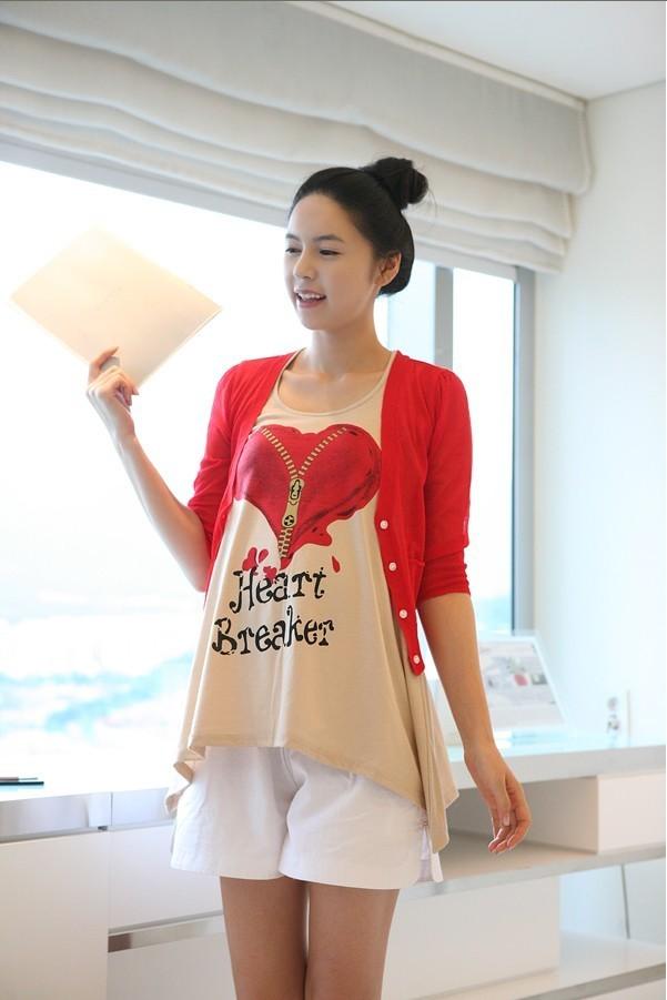 Женская футболка для беременных + twinset 410 футболка для беременных printio мишка me to you
