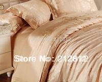 EXPRESS FreeShip Home textile Luxury Jacquard bedding set 4 pcs bedspreadsduvet cover set /comforter set /bed sheet King/Queen