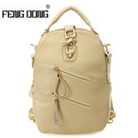 2014 Backpack Travel Bag Backpacks Female Preppy Style Casual Fashion Women's Handbag Multifunctional Chest Pack Mochila