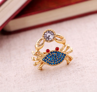 Fashion fashion accessories crab Women elastic ring