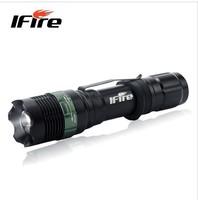 IFire 808 the strong light flashlight charging long-range CREE focusing zoom belt clip