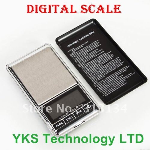 New arrival 0.01 x 300g Electronic Balance Gram Digital Pocket scale free shipping --A404 Hot(China (Mainland))