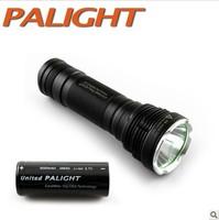 The PALIGHT light 26650 light flashlight long-range charge genuine Shenhuo X8-T6 L U2 package