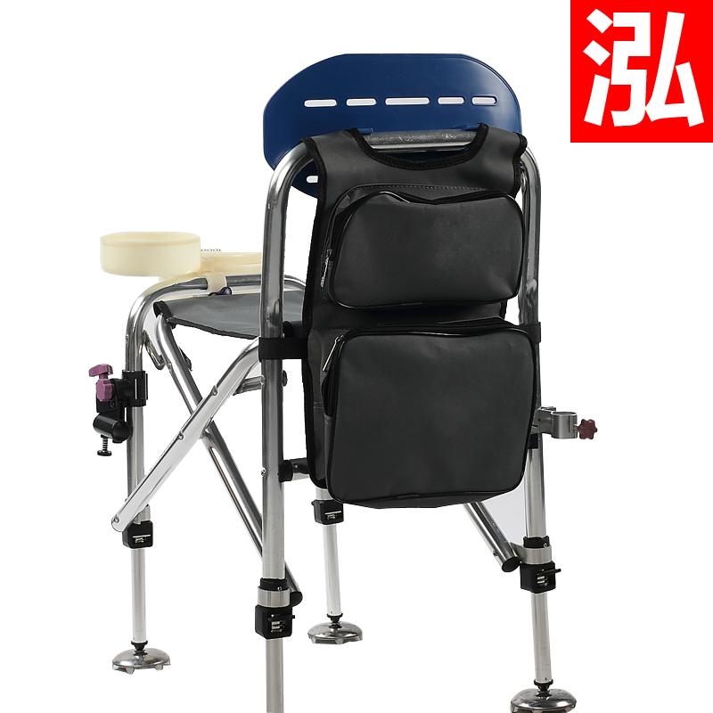 Стул складной пристегивающийся к рюкзаку.  Каркас стула выполнен из стальной трубки и покрашен в черный цвет.