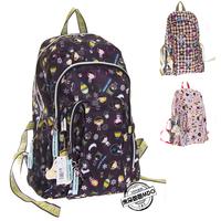 women's Mountaineering backpack  handbag multi-purpose double-shoulder student school bag HARAJUKU  travel bags