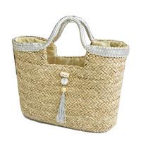 2013 fashion ladies' straw bags fashion casual bag large capacity beach handbag  free shipping