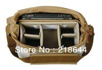 """Fashion Canvas DSLR Camera Bag Shoulder Messenger Bag  gadget bag 14"""" Laptop Shoulder Messenger Bag"""