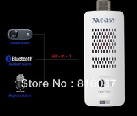 Free Shipping 1pc/lot Newest Measy U2C Dual Core Rk3066 Android 4.1.1 mini PC Built in Bluetooth +Camera +Microphone Mini PC