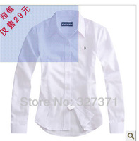 Ms 2013 hot spring cotton long sleeve shirt OL business attire female shirt, free shipping