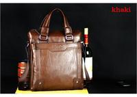2013 Brand man handbag hot selling and good value men shoulder bag/soft leather briefcase bag free shipping  MB89