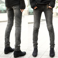 New arrival 2013 men's clothing men's skinny pants pencil pants jeans male skinny pants trousers