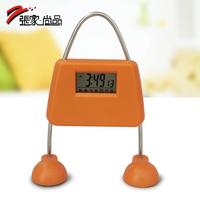 Cartoon clock cute alarm clock small toy zj-212