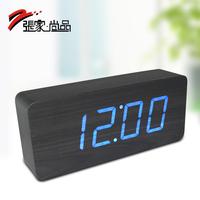 Wood clock function alarm clock led clock gift 006yk