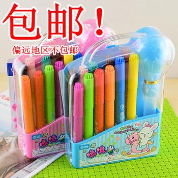 Hot sell Zhigao kk rabbit airbrush kk-522 12 airbrush set watercolor pen cartoon painting paint brush Free shipping