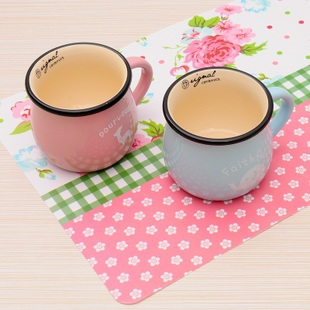 Min. order is $15 (mix order) 2997 print placemat pp waterproof coasters table mat septa pad coasters(China (Mainland))