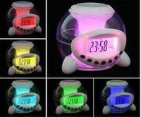 Colorful lights alarm clock fashion alarm clock lazy alarm clock music alarm clock natural symphony ball alarm clock