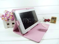 Pink Black blue brown Original Leather Case for 10.1 inch Pipo M3 RK3066 Dual Core Tablet PC Free Shpping