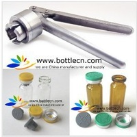1piece vial crimper of 13mm, 20mm flip off tops caps manual crimping crimper sealing capping tool